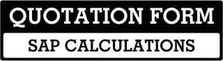 SAP Calculations Quote  For Swindon